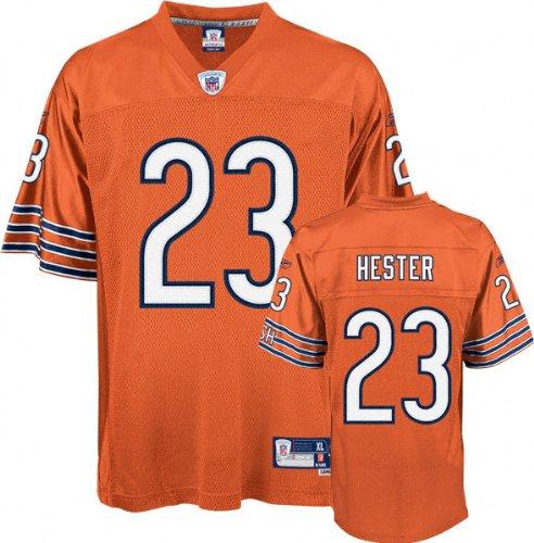 reputable site b467a df43e Amazon.com: Devin Hester Orange Reebok NFL Premier Chicago ...