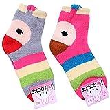 Women's Fuzzy Soft Warm Socks 2-Pack