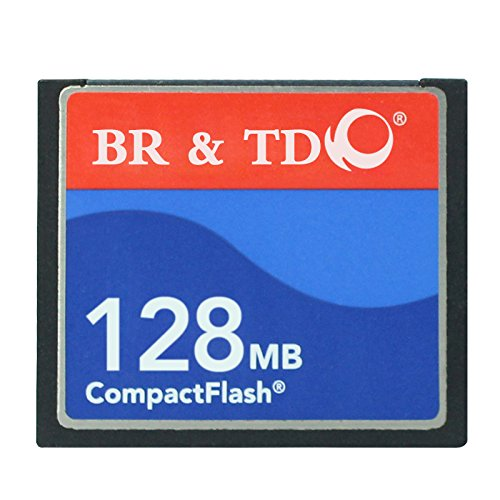 Compact Flash Memory Card BR&TD ogrinal Camera Card 128mb ()