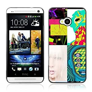 Designer Depo Hard Protection Case for HTC One M7 / Abstract Pictures