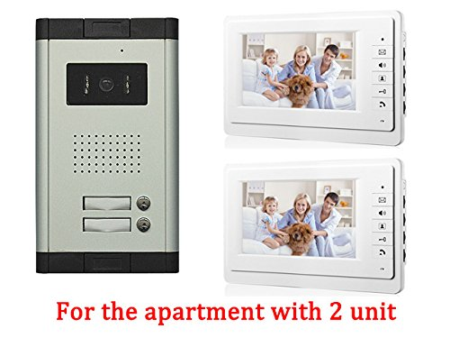 Amazon Apartment Wired 7 Inch Monitor Video Door Phone Audio