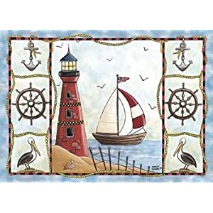 51iQ5W8lYBL._SS300_ 200+ Best Nautical Rugs and Nautical Area Rugs For 2020