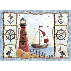 51iQ5W8lYBL._SS300_ 200+ Nautical Rugs and Nautical Area Rugs