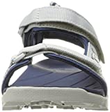 Teva Boys' Tanza Sandal, Grey/Navy, 11 M US Little