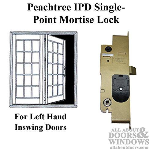 Peachtree IPD French Door Mortise Lock - Left Hand Inswing (Lockset Peachtree Door Patio)