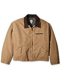 Carhartt mens big Sandstone Detroit Jacket - Big