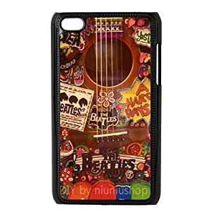 Durable Plastic Hard Cover Protective Case Fits ipod touch 4 4th 4g - The Beatles