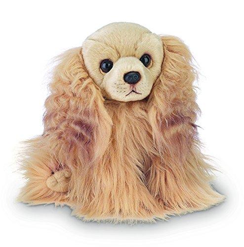 "Spaniel Stuffed Toy (Bearington Sandy Cocker Spaniel Stuffed Animal Toy Dog 13"")"