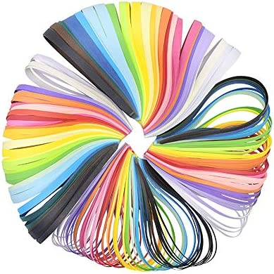 クイリングペーパー セット 3mm/5mm/7mm/10mm 長さ39cm 26色 1040枚 ペーパークイリング 造花 DIY