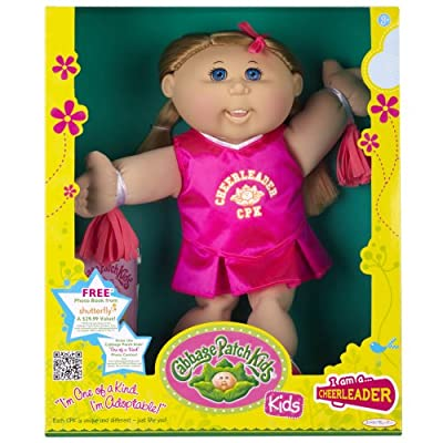 Cabbage Patch Kids Doll - Cheerleader Caucasian Girl Blond Hair from Cabbage Patch Kids