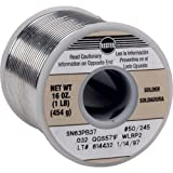 Kester 24-6337-8800 50 Activated Rosin Cored Wire Solder Roll, 245 No-Clean, 63/37 Alloy, 0.031″ Diameter