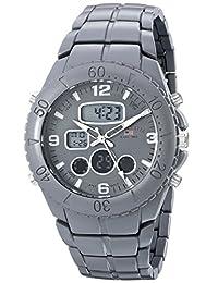 U.S. Polo Assn. Sport Men's US8579 Grey Analog-Digital Bracelet Watch