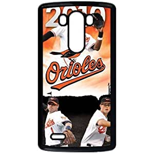 MLB&LG G3 Black Baltimore Orioles Gift Holiday Christmas Gifts cell phone cases clear phone cases protectivefashion cell phone cases HMFN635585996