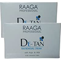 Raaga Professional De-Tan Tan Removal Cream, 12g (Pack of 6)