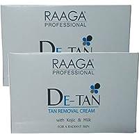 Raaga Professional De-Tan Tan Removal Cream, 12g (Pack of 6)