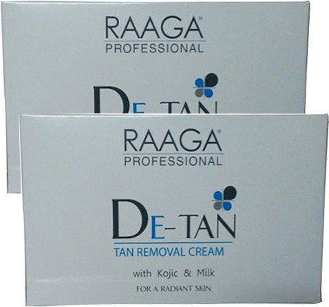Raaga Professional De-Tan Tan Removal Cream, 12g (Pack of 6) product image