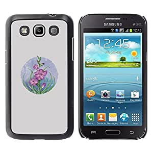 Be Good Phone Accessory // Dura Cáscara cubierta Protectora Caso Carcasa Funda de Protección para Samsung Galaxy Win I8550 I8552 Grand Quattro // Card Flowers Pastel Drawing