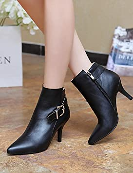 Mujer Botines Zapatos – Botas – Mujer vestido/LÄSSIG – Piel sintética – Stöckel Super