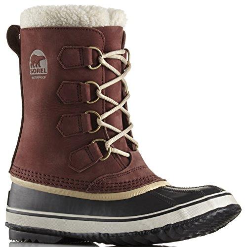 SOREL Womens 1964 Pac 2 Rain Winter Hiking Snow Walking Waterproof Boots - Redwood British Tan - 8