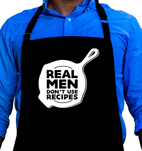 Real Dont Recipes Funny Apron product image