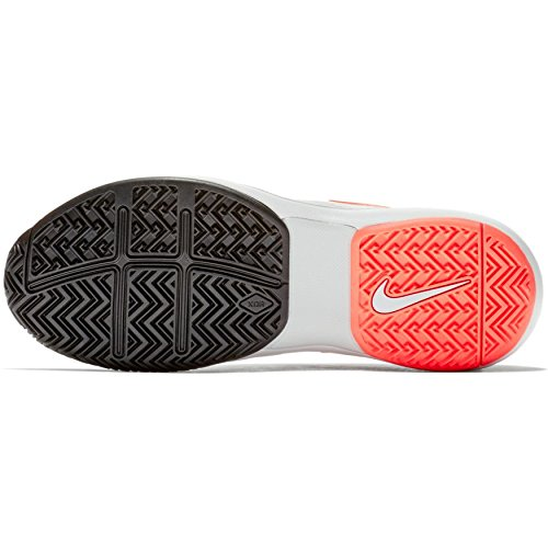 Price comparison product image NIKE Women's Air Zoom Prestige Tennis Shoes (7.5 B US, Hardcourt - White/Hot Lava/Pure Platinum/Blue Nebula)