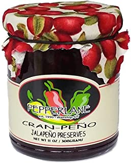 product image for Cran-Peno Preserves, Natural Cranberry-Jalapeno Specialty Pepper Jelly, 11-Ounce each (3 Pack)