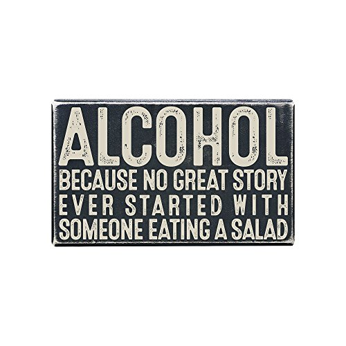 Vintage Wall Decor w/ Funny Quote, Unique Metal Wall Decor for Home, Bar, Diner, Pub, or Man Cave 9