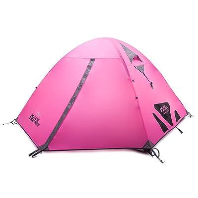 Équipement d'extérieur résistant aux intempéries Extérieur Camping Ventilation Tente 3personnes froid Mountain 3Air Améliorées