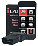 iLAND Diagnostic Smartphone Scanner Tool with Bluetooth Adapter for Land Rover Vehicles