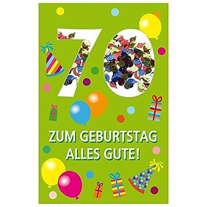 Susy Card 40010281 tarjeta de cumpleaños, 70 cumpleaños ...