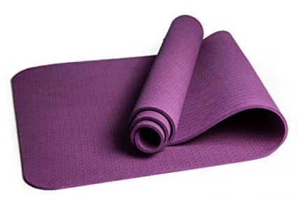 Amazon.com : Happy Time Yoga Mat, Indoor Exercise Mat, TPE ...