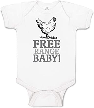 Fashions Chicken Cute Novelty Funny Infant One-Piece Baby Bodysuit