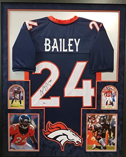 the latest 9e643 288c1 Champ Bailey Denver Broncos Memorabilia, Broncos Champ ...