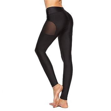 9c38800c19b5 WZXY Malla Patchwork Fitness Pantalones Deportivos Transpirables ...