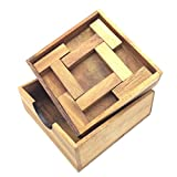 BRAIN GAMES 4 T Brainteasers Wooden Puzzle