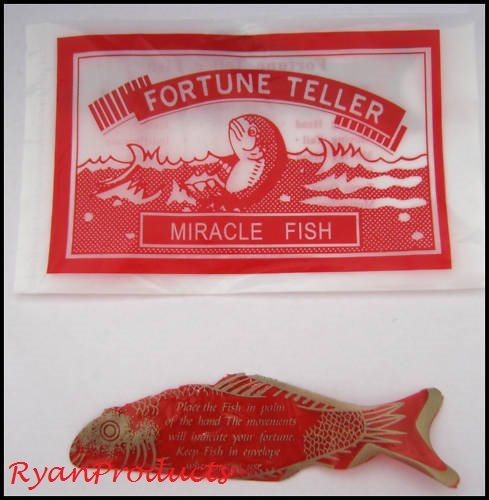 96 dozen pack of Fortune Teller Miracle Fish by RyanProducts