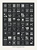 Pop Chart Lab ''A Stylistic Survey of Graphic Design'' Poster Print, 18'' x 24'', Multicolored