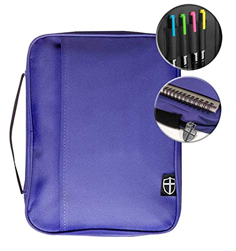These Bible Cases (Armor of God Bible Cover Large-Violet)