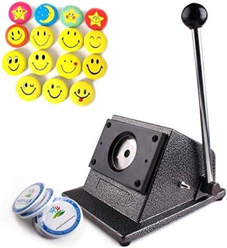 Drohneks 70mm Badge Maker Maschine Runde Button Badge Maker Presse Maschine Runde Grafik Punch Stanze 300g Papier für 58mm Badge & Button
