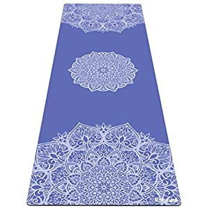 Reetual, The Yoga Mat That Adores Sweat | Premium Hot Yoga Mat Non Slip Towel Combo – with Carrying Strap | Eco Friendly…