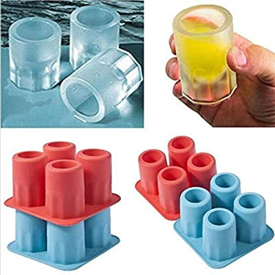 Compra CTOBB Hot New Party Bandeja de Hielo para Bebidas con Forma ...