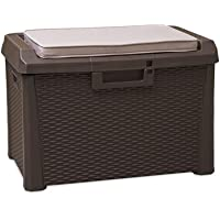 TOOMAX Art. 170 Compact Box Santorini Malle de Rangement Résine 73 x 50,5 x 49,5 cm
