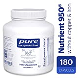 Pure Encapsulations – Nutrient 950 without Copper & Iron – Hypoallergenic Multi-vitamin/Mineral Formula for Optimal Health* – 180 Capsules For Sale