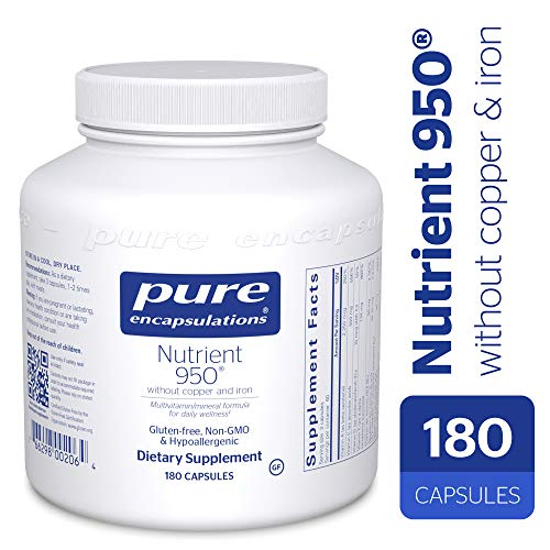 Pure Encapsulations - Nutrient 950 without Copper & Iron - H