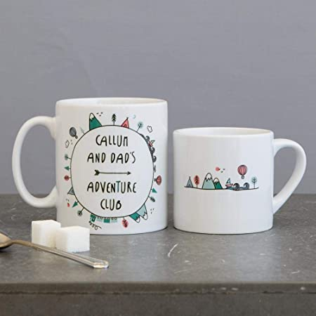 Coffee Cups Home & Kitchen Family Picture Design fathers day