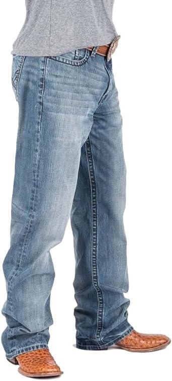 Amazon Com Tin Haul Pantalones Vaqueros Para Hombre Corte De Bota Straight 33 Clothing