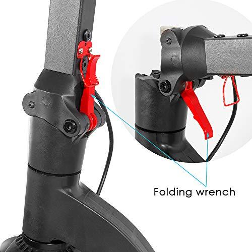 "XPRIT Folding Electric Kick Scooter w/Long Lasting Battery (Black-6.5"" Wheel)"