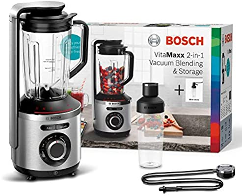 Bosch MMBV621M - Licuadora (1,5 L, 37000 RPM, Botones, Giratorio ...