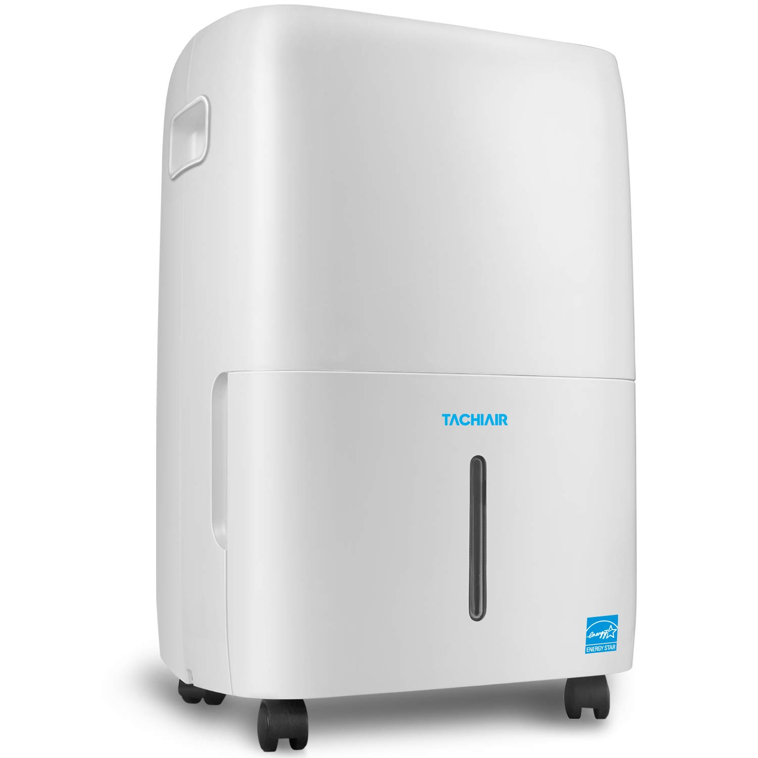 TACHIAIR 70-Pint Energy Star Quiet Portable Dehumidifier with Built-in Pump for RV Basement&Large Rooms up to 4500sq.ft, Intelligent Humidistat,Auto Shutoff/Restart,24hr Continuous Drainage,White
