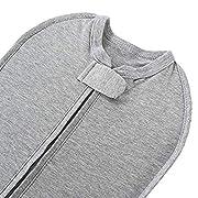 The Original Woombie Baby Swaddle Blanket, Twilight Heathered Grey, 5-13 lbs